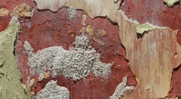 Wand, Mural, Patina, Grunch, Farbe, Antik, Wandgestaltung, Wandmalerei, abgeblätterte Farbe, Fassade